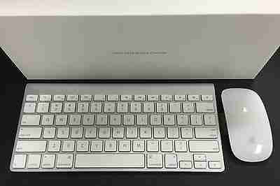 4133996c66b Apple Bluetooth Wireless Keyboard & Magic Mouse Combo MC184LL/B MB829LL/A |  MacBlowouts