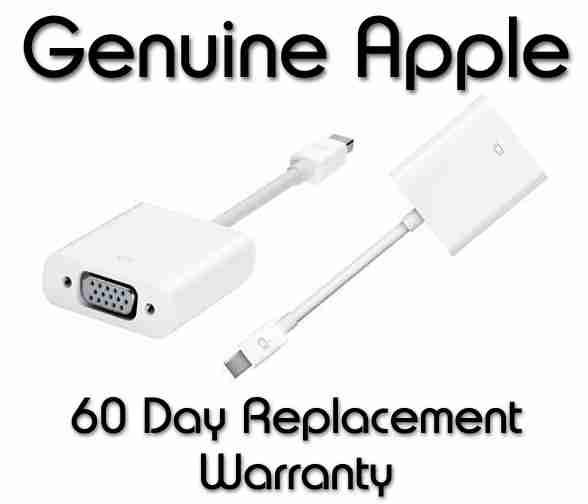 Authentic Apple Product MB572Z//B Apple Mini DisplayPort to VGA Adapter