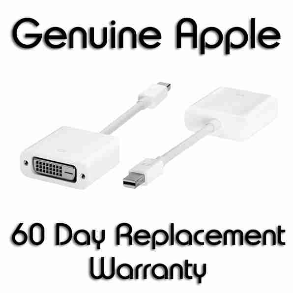 Genuine Apple Mini Displayport To Dvi Adapter