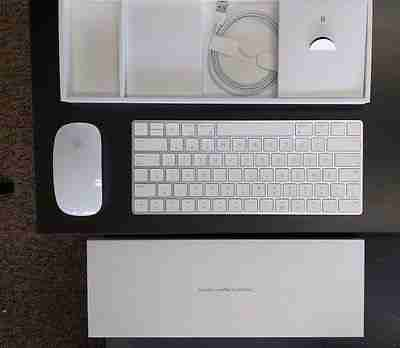 2d808945590 Apple Magic Keyboard AND Magic Mouse 2 COMBO Bluetooth Rechargeable  A1644/A1657 | MacBlowouts