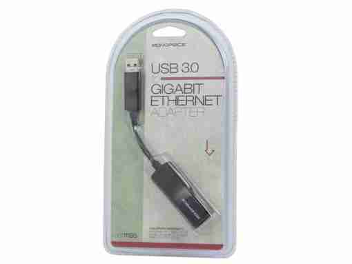 USB 3.0 to Gigabit Ethernet Adapter by MonoPrice PN 11195
